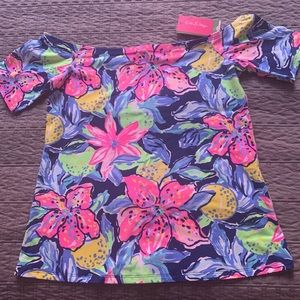 Lily Pulitzer off the shoulder top, size S, NWT